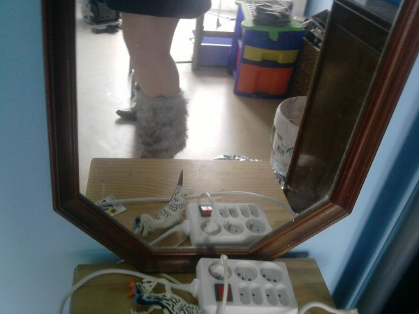 ma nouvelle robe avec mes botte