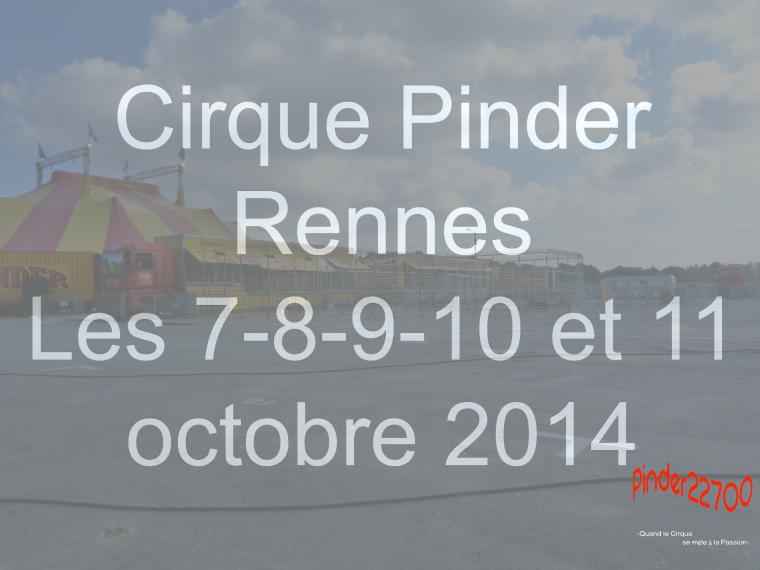 Agenda des cirques