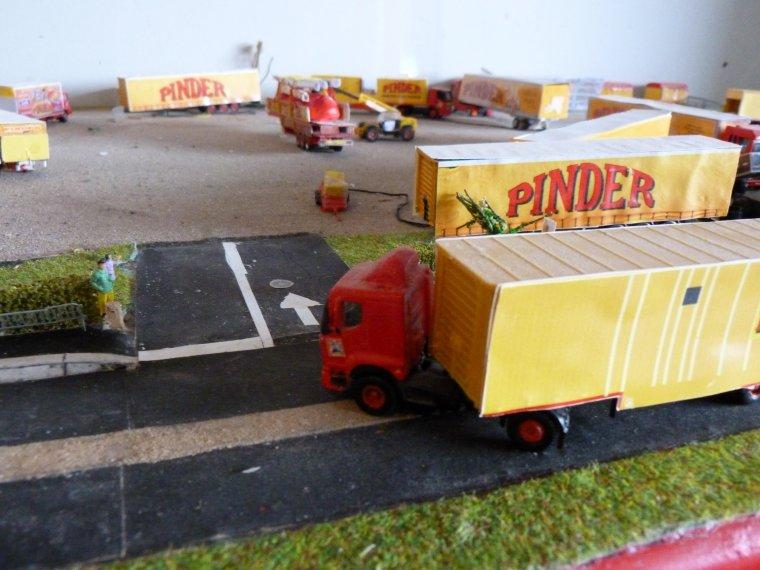 Maquette : Arrivée cirque Pinder première ville [part 2]