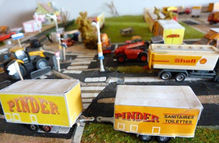 Maquette : Arrivée cirque Pinder première ville [part 3]