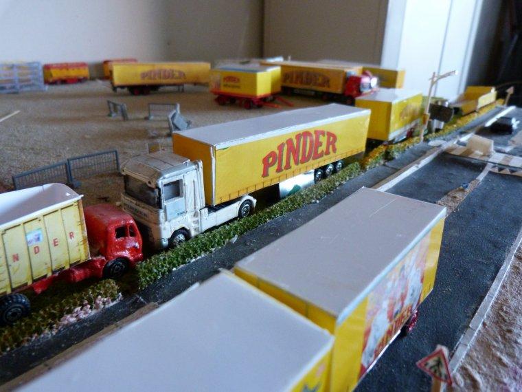 Maquette : Arrivée cirque Pinder première ville [part 5]