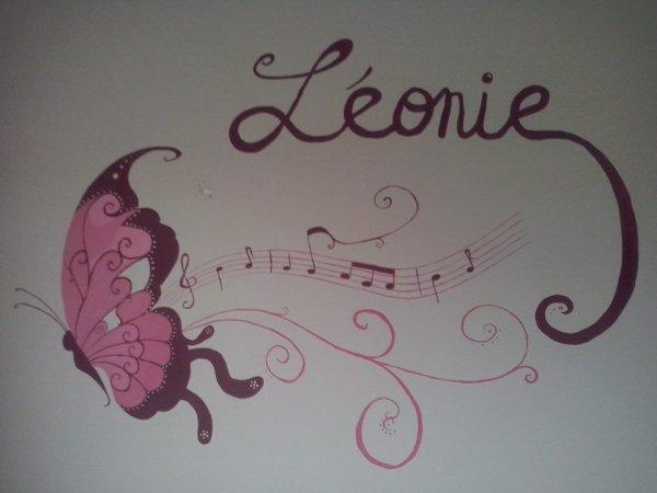 Fresque faite pour la fille d'une amie