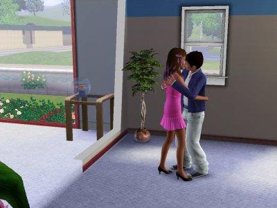 Prue et son petit ami Andy