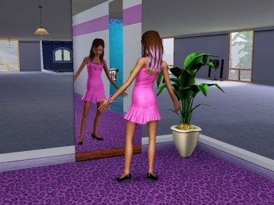 Prue et son miroir