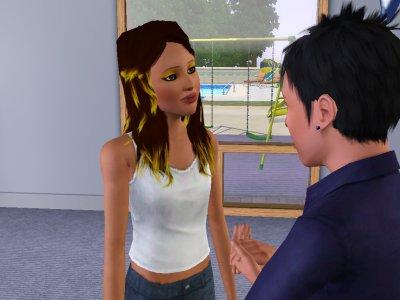 """Chris et Prue """" Prue raconte a chris quel est enceinte"""""""