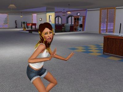 Britney qui accouche les enfants paniquer