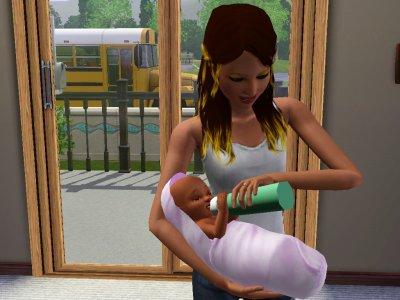Prue et sa soeur Clem