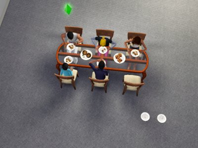 Ici il mange tous ensemble raviolis ou sandwich au fromage