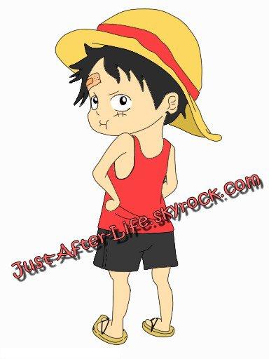 Luffy enfant (1)