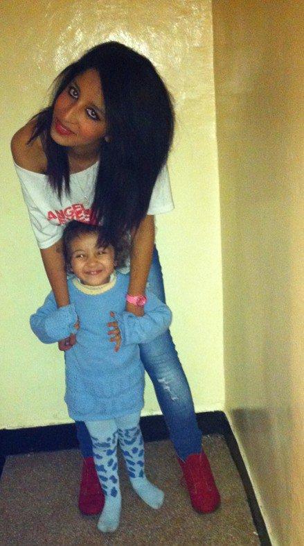 avec ma pucette adorée'Rania'