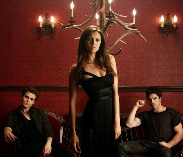 l'histoire de la série tv The Vampire Diaries
