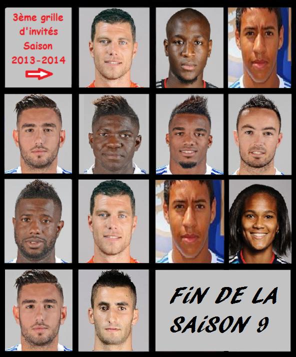 #07.  OL-system    -   Les Joueurs invités - Saison 2013/2014