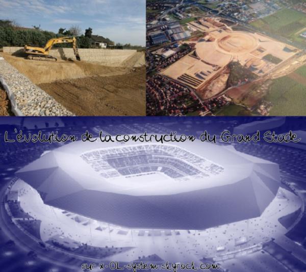 #18. Le Stade des Lumières, toute son évolution.