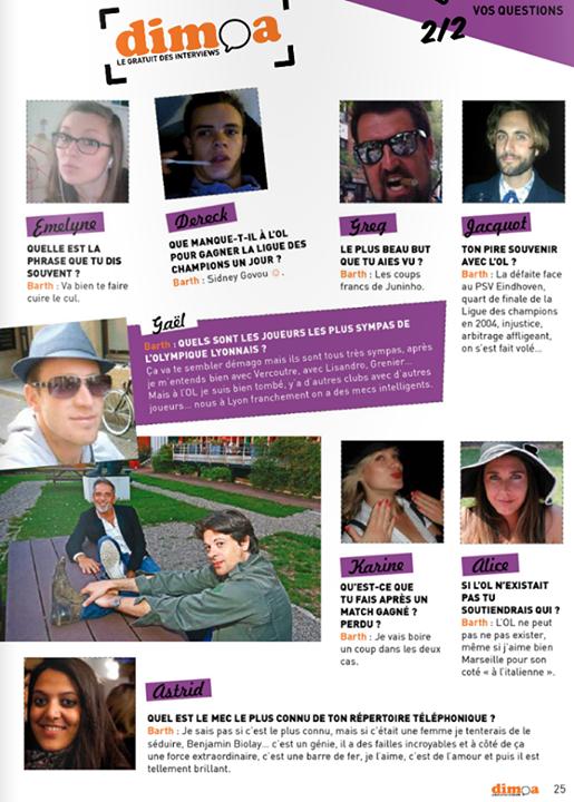 #92. Interview de Barth par le mag Dimoa