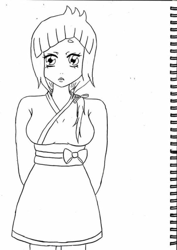 Le dessin original de Koko