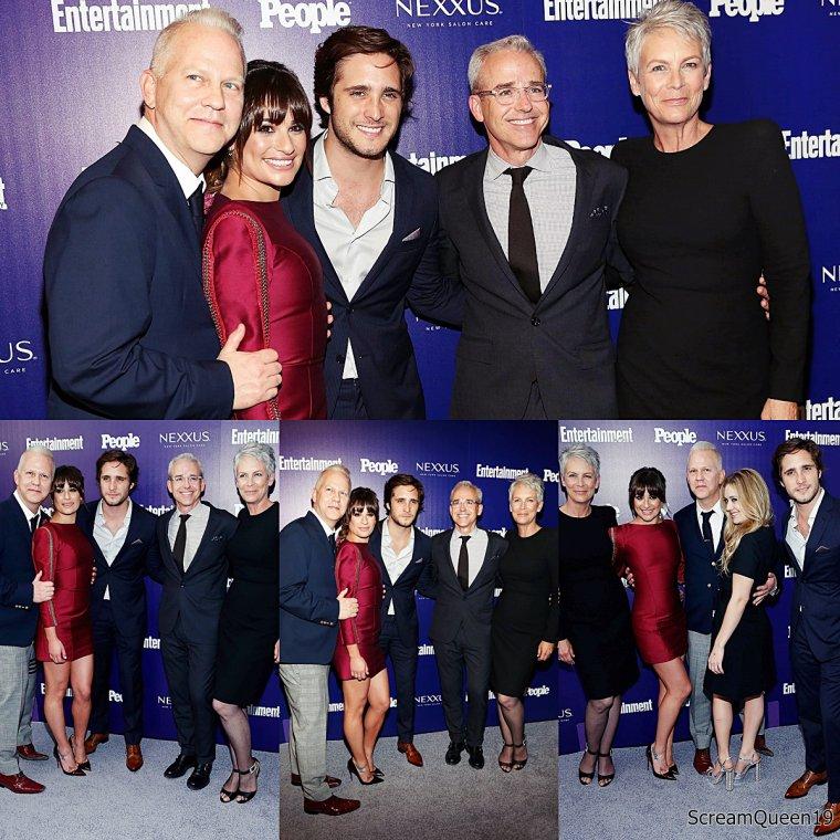 11/05/15:Le cast de Scream Queens à la soirée de présentation des nouveaux programmes de la chaîne américaine FOX à New York