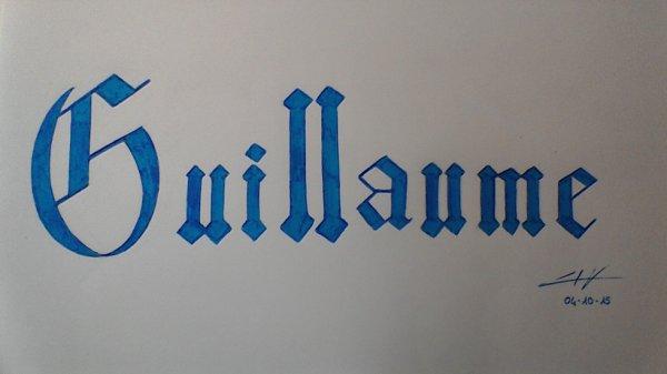 """Guillaume"""