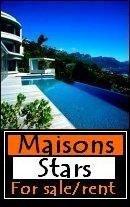 MAISONS DES STARS/ OU VIVENT ELLES? / STARS HOUSES