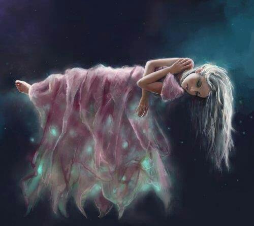 Endormie'dans une pluie d étoiles