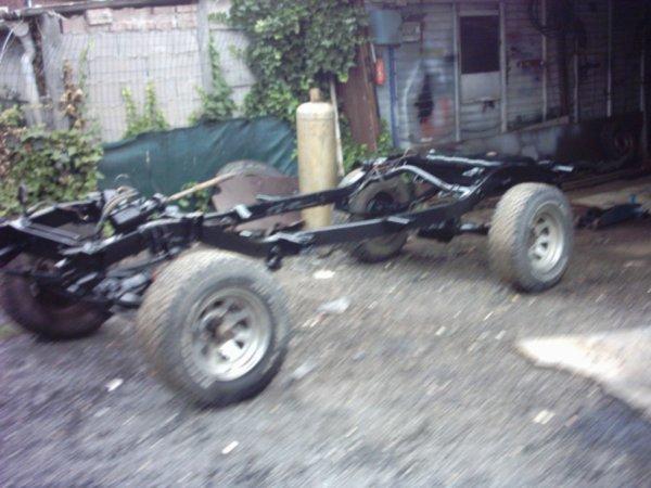 peinture chassis
