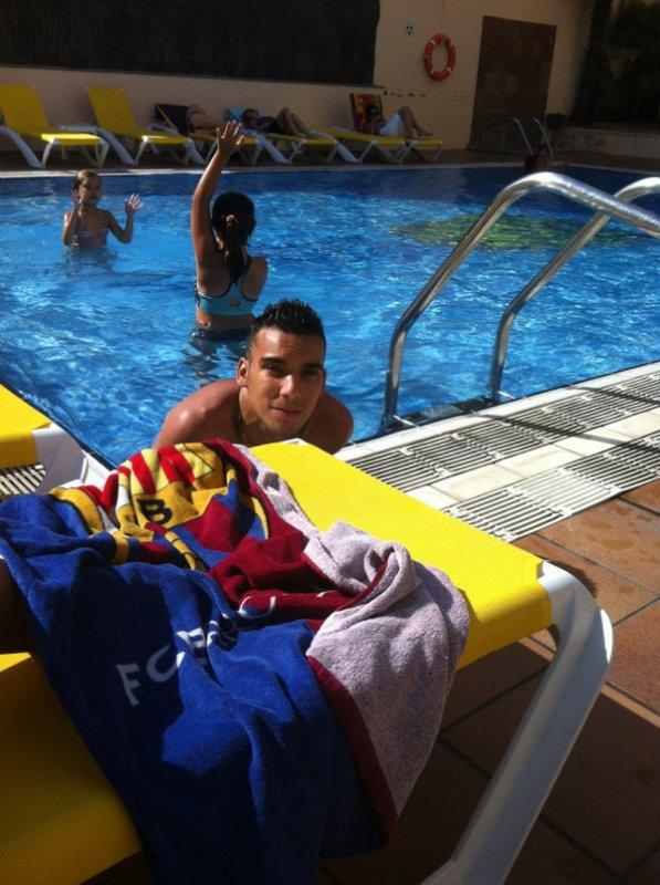 Moi en Espagne