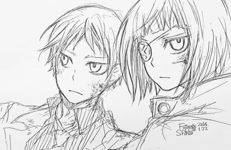 Toujours plus de dessin de Shinta.