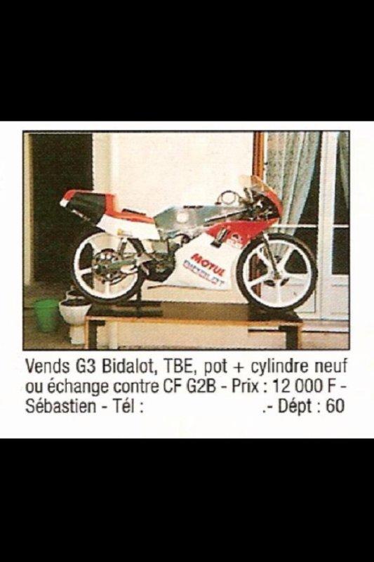 Fin des années 90, les G3 avaient peine à se vendre...mais plus aujourd'hui !