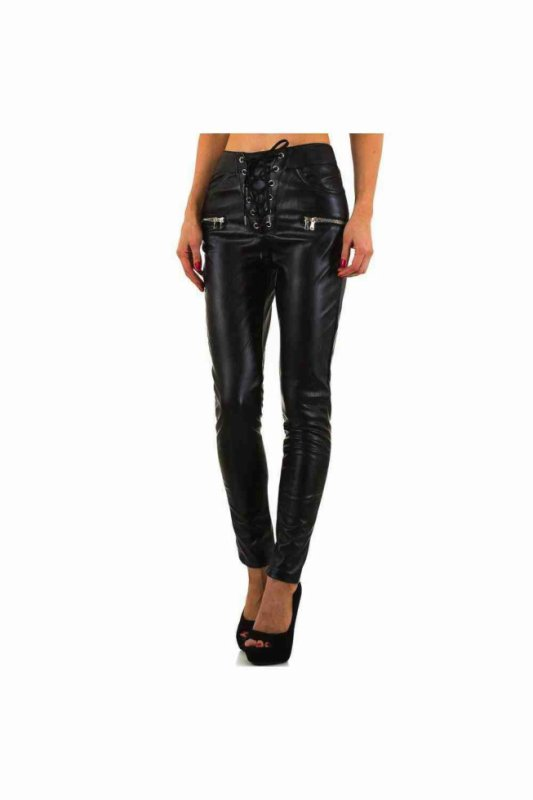 PANTALON FASHION LACETS NOIR 29.99¤