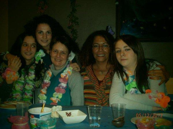 Régina , Melanie , Nicole , Zaquia & Moii