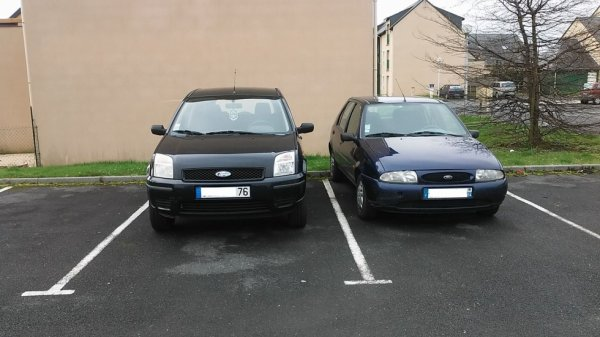 Ford fusion et Fiesta