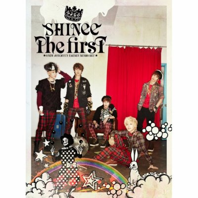 "SHINee ""the first"" album en japonaise"
