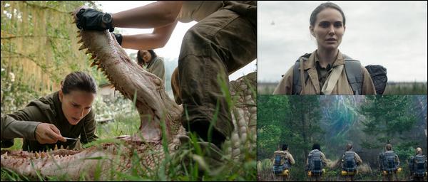 Découvre le nouveau film de Natalie Portman, intitulé « Annihilation »