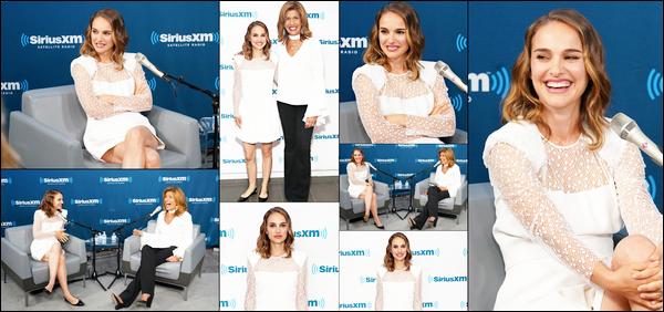 15.06.2018 : Natalie  était au studio de la radio Sirus XM , puis a quitté les locaux dans la ville de New York
