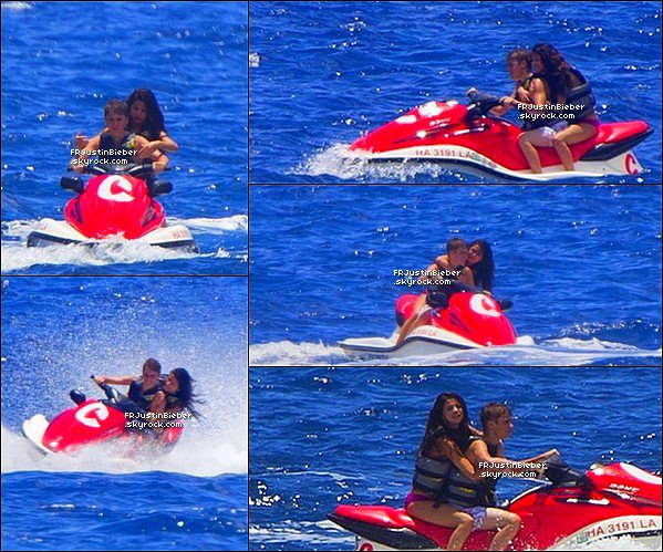 09/02/2012 : Jelena s'amuse a la plage à Hawaii. ARTICLE FLASHBACK