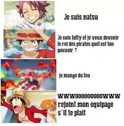 Luffy qui ne prend jamais rien au sérieux