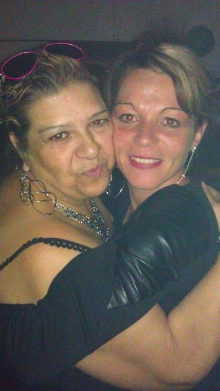 ma mère et ma femme ...