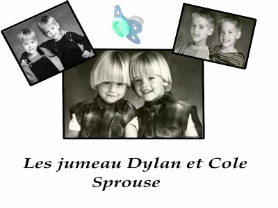 Dylan et Cole sprouse