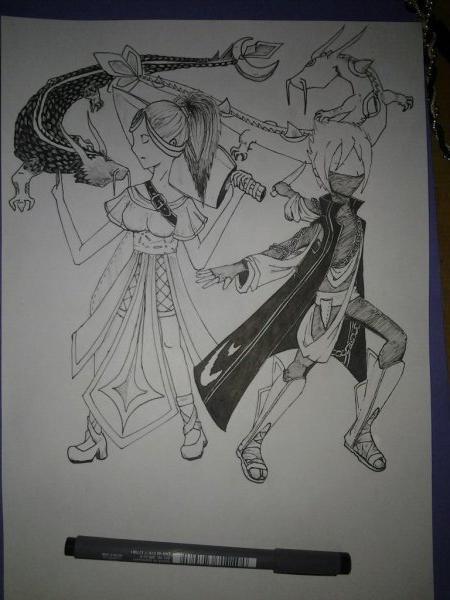 Shizuka et Hinahiru