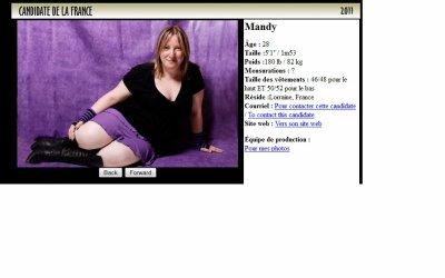 VOTEZ POUR MANDY POUR MISS PLUMP 2011 !!!!!