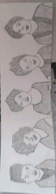 Mon premier dessin des boys