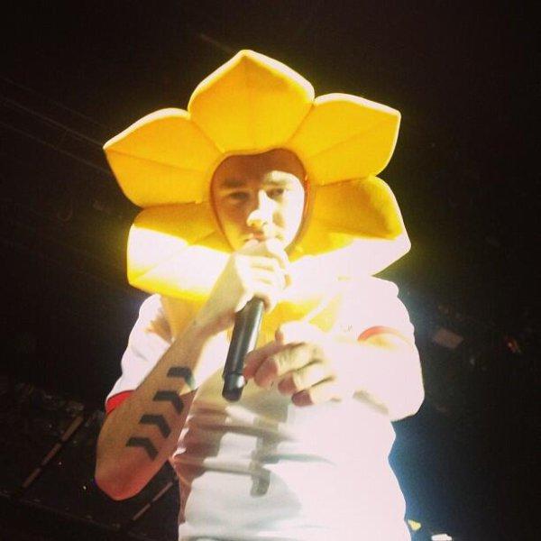 liam en fleur
