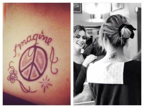 Le new tatouage de Tini