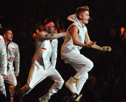 Justin au Madison Square Garden - Jour 1