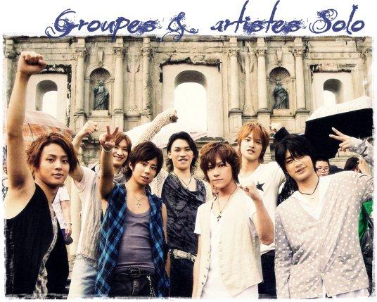 Groupes et Artistes ( chanteurs, acteur ect.. ) Japonais