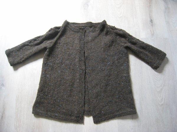 Je suis en mode tricot...