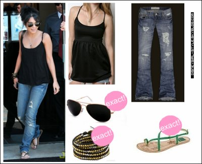 Dress like vanessa hudgens your french souurce about disney girls - Avis urban dressing ...