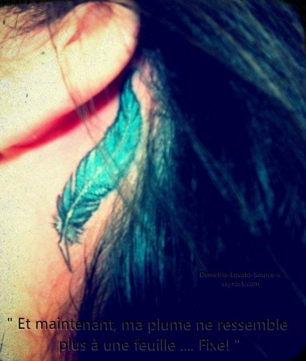 11&12/06/11   Demi a posté ces photos sur son twitter avec des commentaires