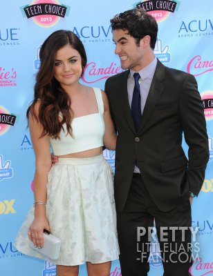 Lucy lors des Teen Choice Awards 2013