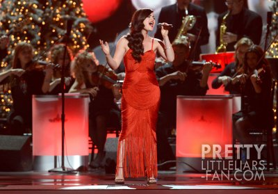 Lucy  Country Christmas Taping, Nashville