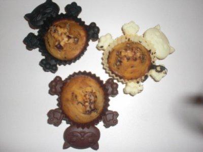 Muffins au chocolat :)